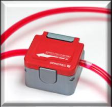 Sonotec SONOFLOW CO.55/140 Non-Invasive Ultrasonic Flow Rate Sensor; Tube OD 16.0 mm