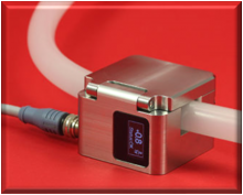 Sonotec SONOFLOW CO.55/044 Stainless Display Non-Invasive Ultrasonic Flow Rate Sensor; Tube OD 4.8 mm - 5.0 mm